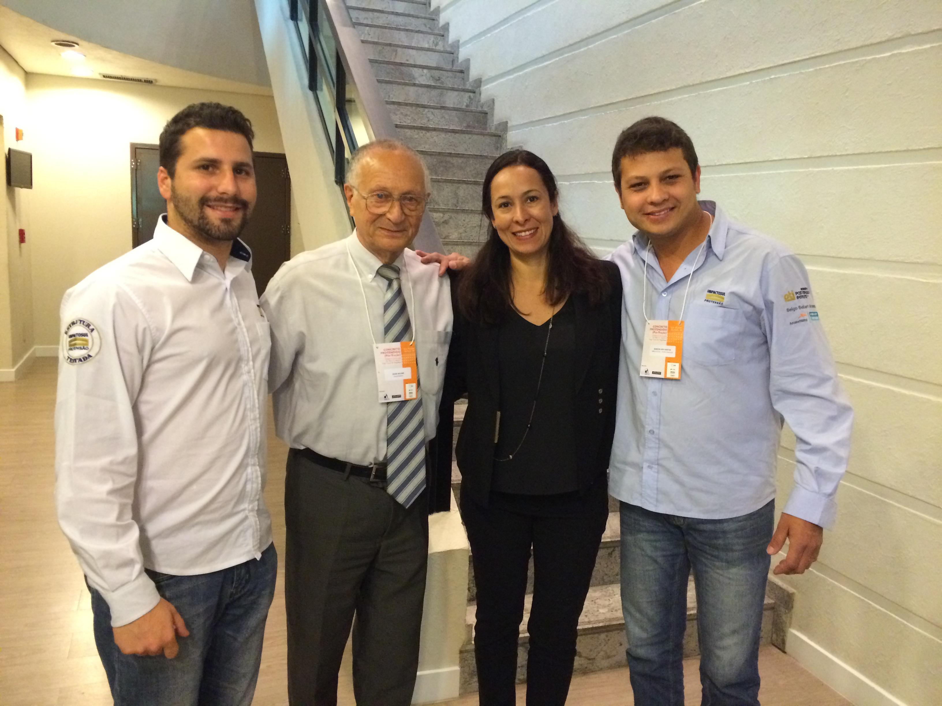 Alex M. Schonemborn, Dr. Bijan Aalami, Carine Magalhães, Marcio dos Santos.